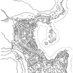 The City of Dawn Harbor, a Fantasy Map by Dyson Logos.